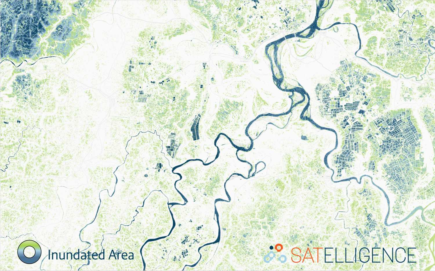 Satelligence has an operational inundation frequency service for large areas all around the world.